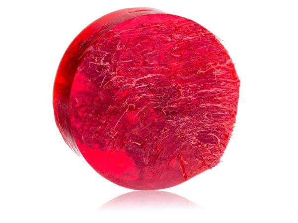 """Grapefruit"" Natural Loofah Soap"