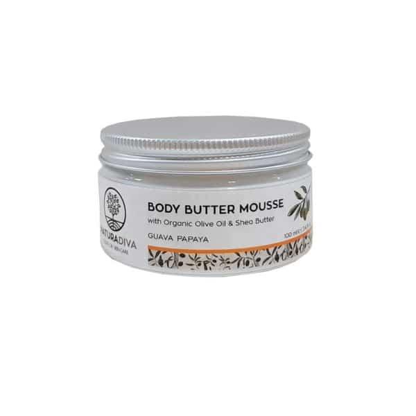 """Body Butter με Λάδι Ελιάς """"Papaya"""" 100ml"""